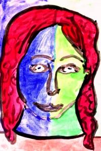 alaina self portrait
