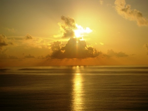 Cancun Golden Sunrise1