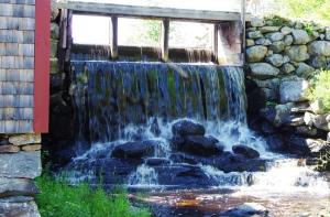 Grist Mill Water Falls