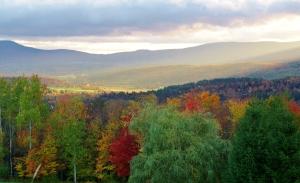 Hillside scene 1, Stowe, VT