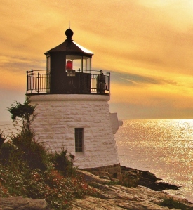 Newport Light, RI -zz