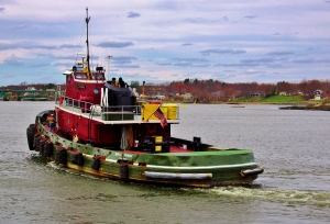 Tugboat, Portsmouth Harbor, NH