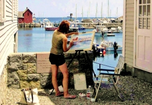 Artist in Rockport, MA-a