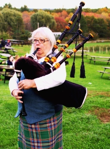 Bagpiper at Nashoba Valley