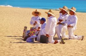 Beach merchants, San Jose del Cabo